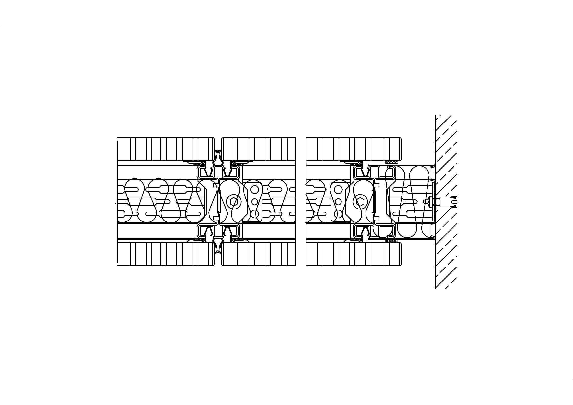 System 100 – flexibler Innenausbau