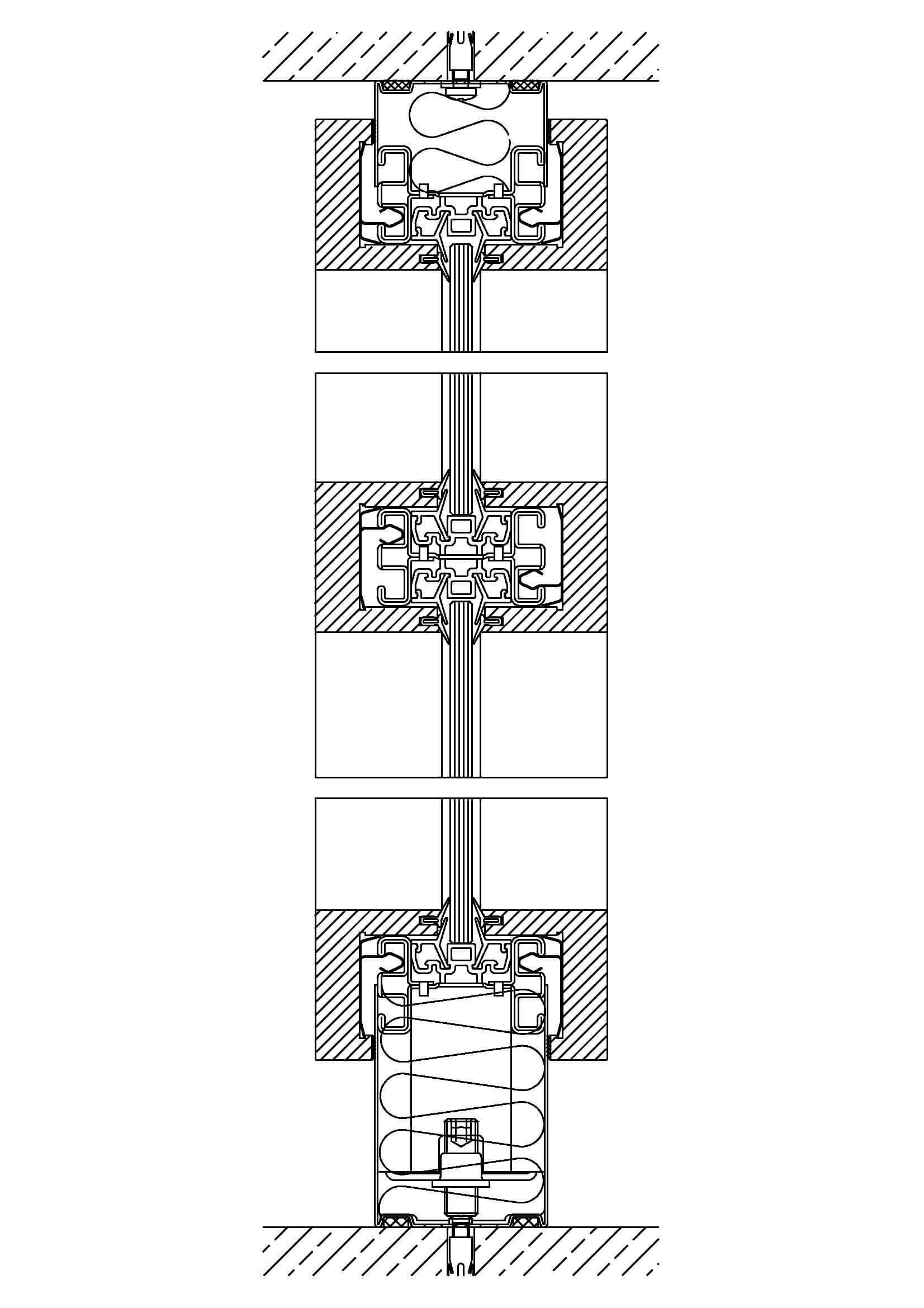 System 650 – Stollenverglasung