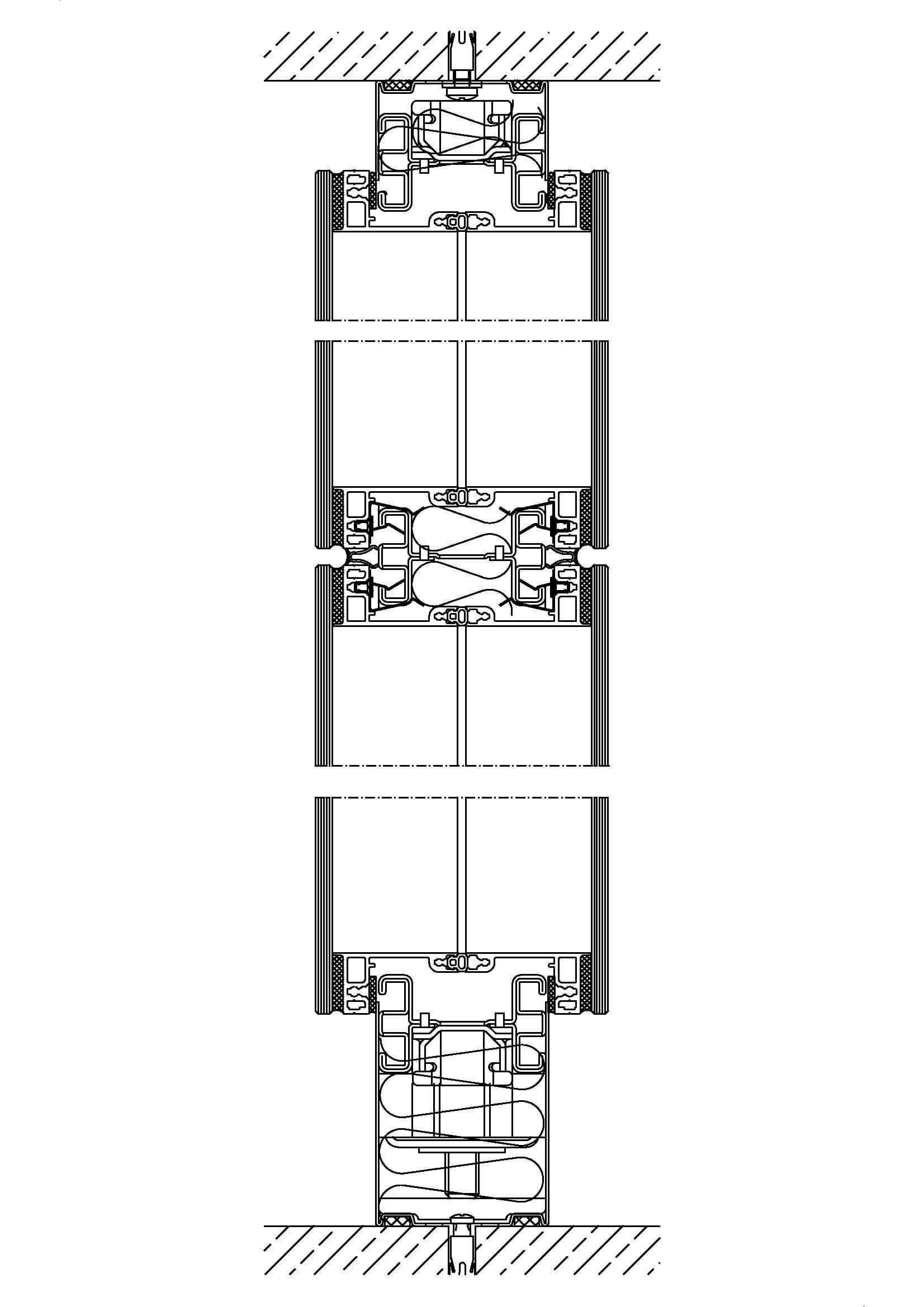 System 700 – flächenbündige Frontscheibenverglasung