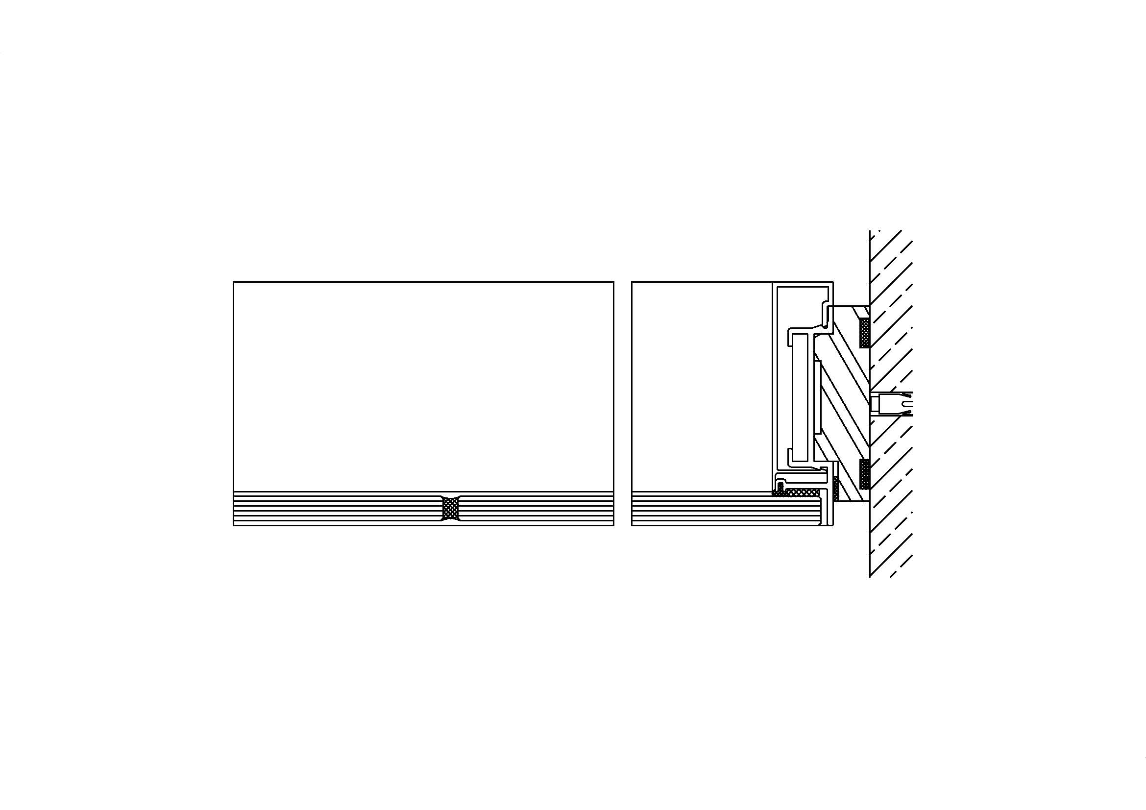 System 800 – Structural-Glazing-Prinzip